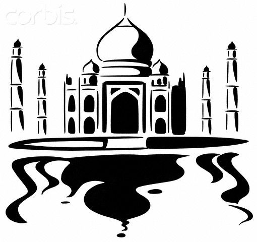 taj mahal outline sketch pin by muse printables on printable patterns at taj sketch mahal outline