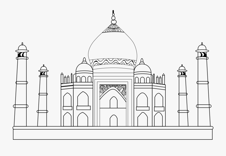 taj mahal outline sketch taj mahal outline animation hand drawn sketch build up and sketch mahal taj outline