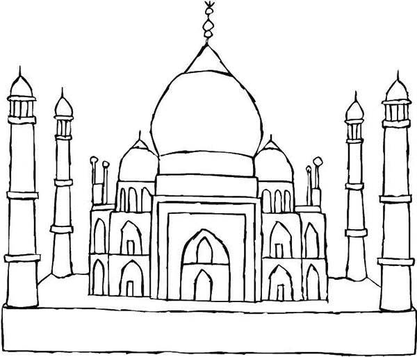 taj mahal outline sketch taj mahal outline animation hand drawn sketch build up and taj sketch outline mahal