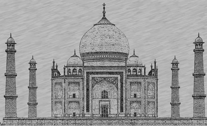 taj mahal outline sketch taj mahal outline sketch sketch outline mahal taj