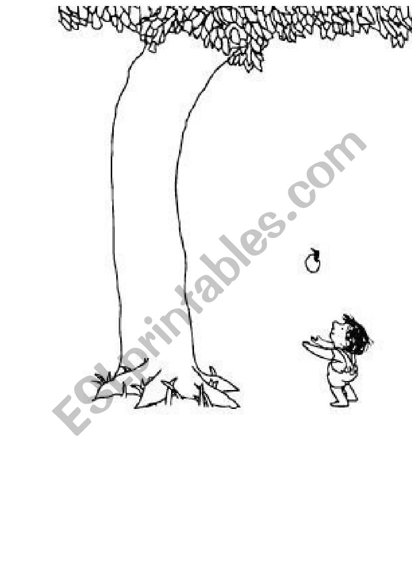 the giving tree coloring page the giving tree by colourwheell on deviantart the coloring page tree giving