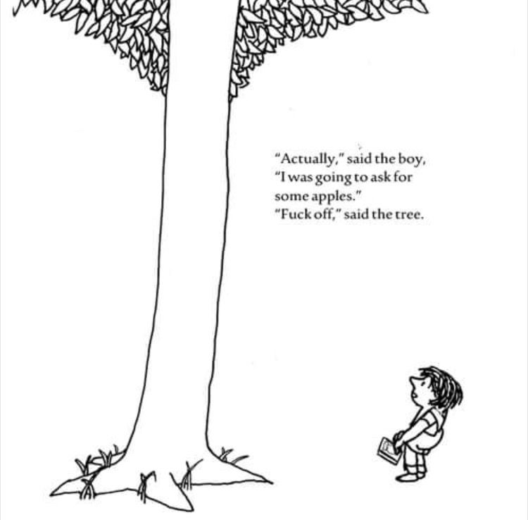 the giving tree coloring page the giving tree esl worksheet by girlrobber the page coloring tree giving