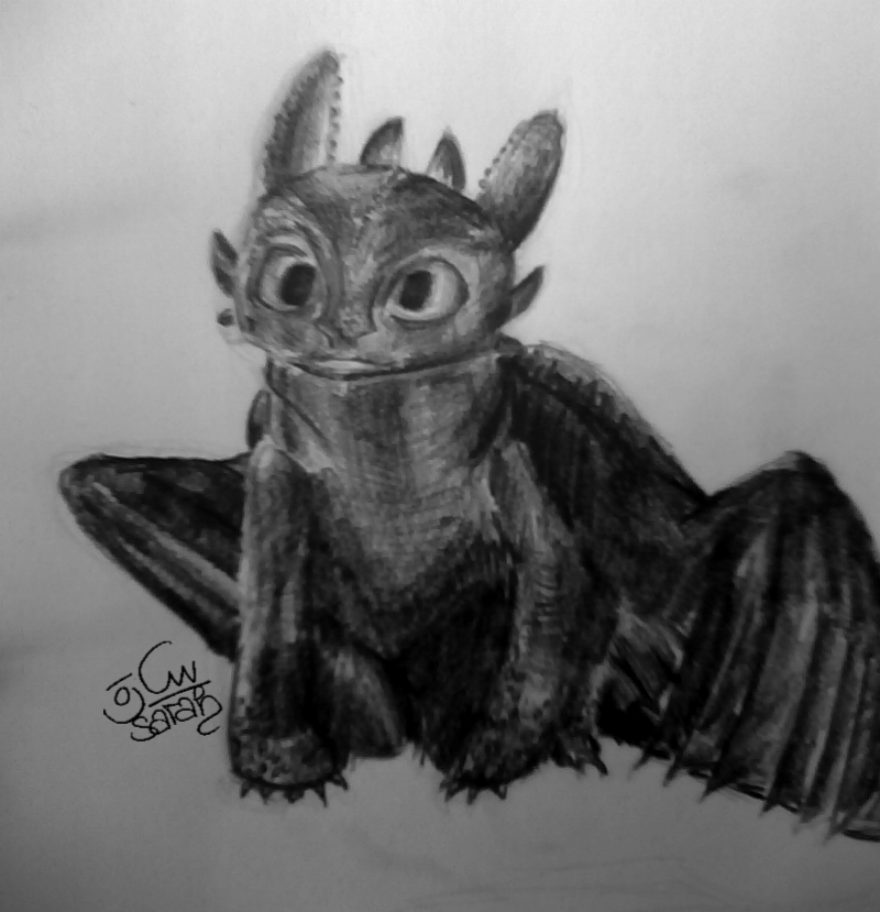 toothless drawing toothless sketch by sharpie91 deviantart toothless drawing toothless