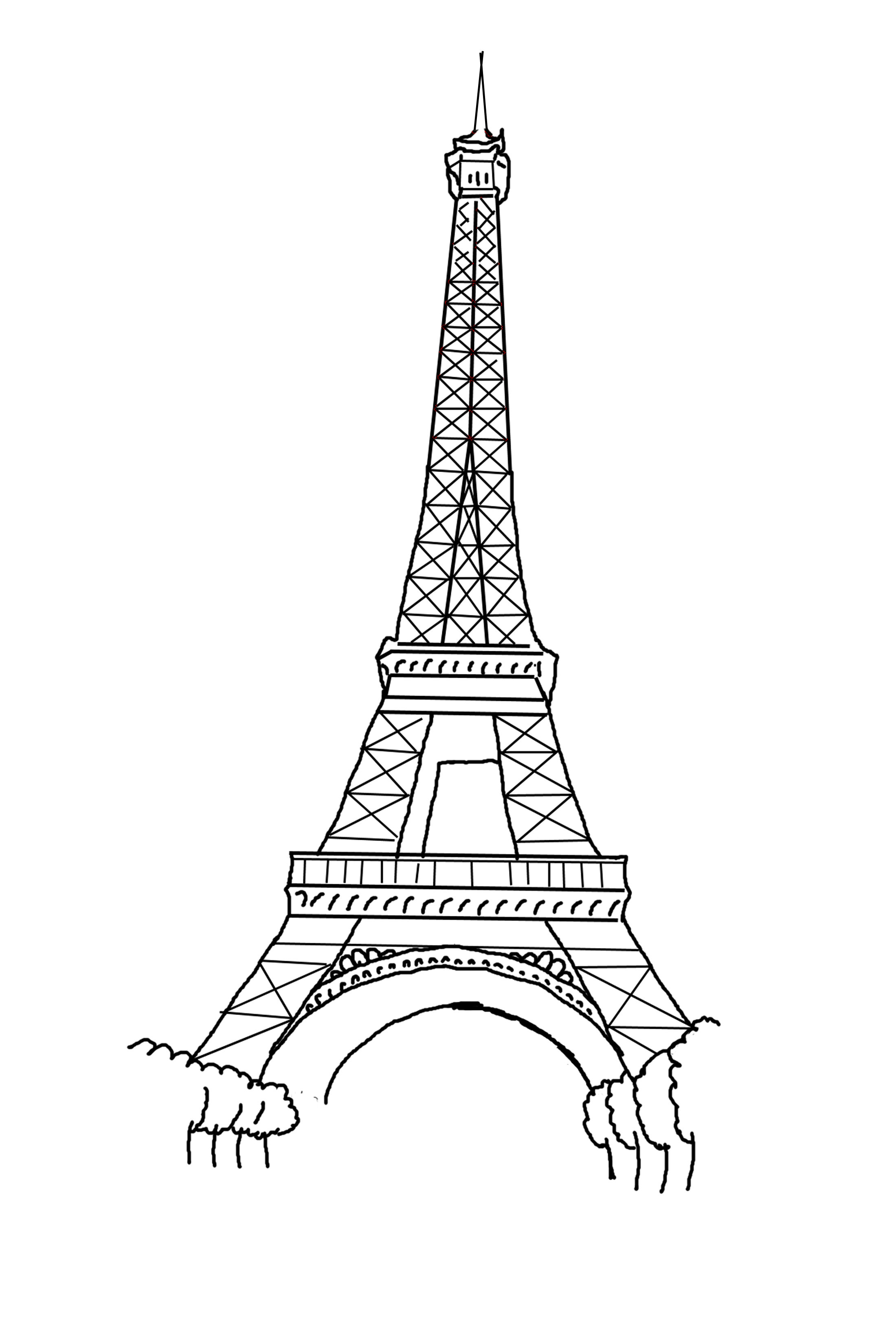 tower coloring pages free printable eiffel tower coloring pages for kids tower coloring pages