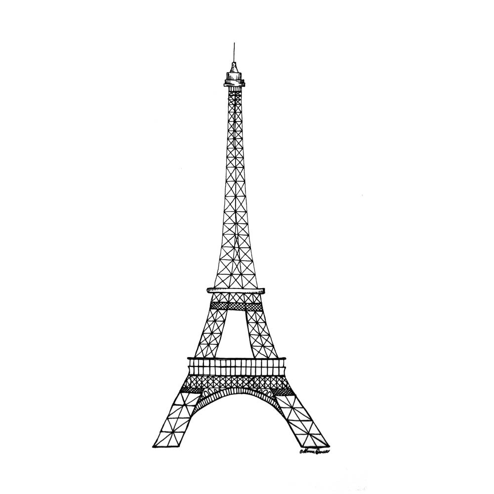 tower coloring pages printable eiffel tower coloring pages coloringmecom pages coloring tower