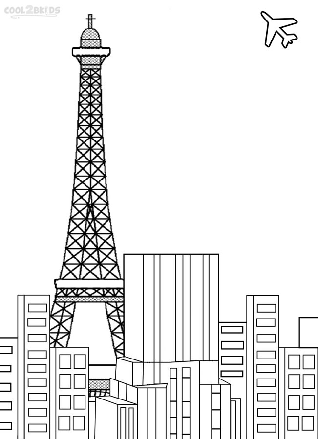 tower coloring pages printable eiffel tower coloring pages for kids cool2bkids pages tower coloring