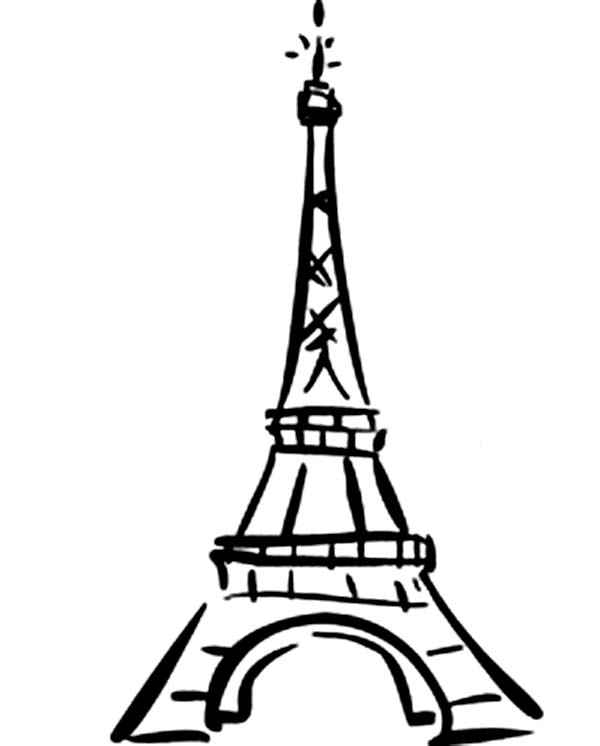 tower coloring pages world destination eiffel tower coloring page download tower pages coloring
