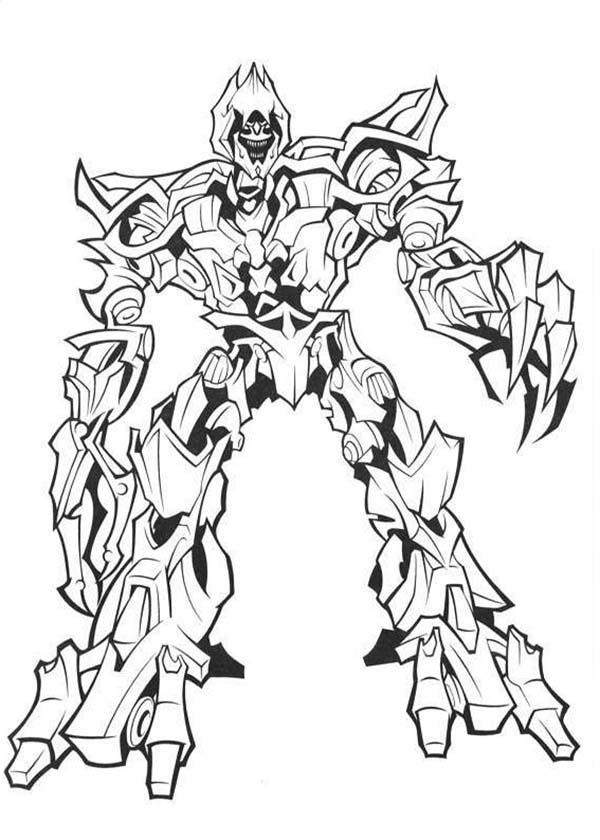 transformer megatron coloring pages megatron coloring pages at getcoloringscom free pages transformer megatron coloring