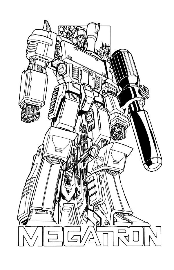 transformer megatron coloring pages megatron coloring pages free large images coloring pages transformer megatron
