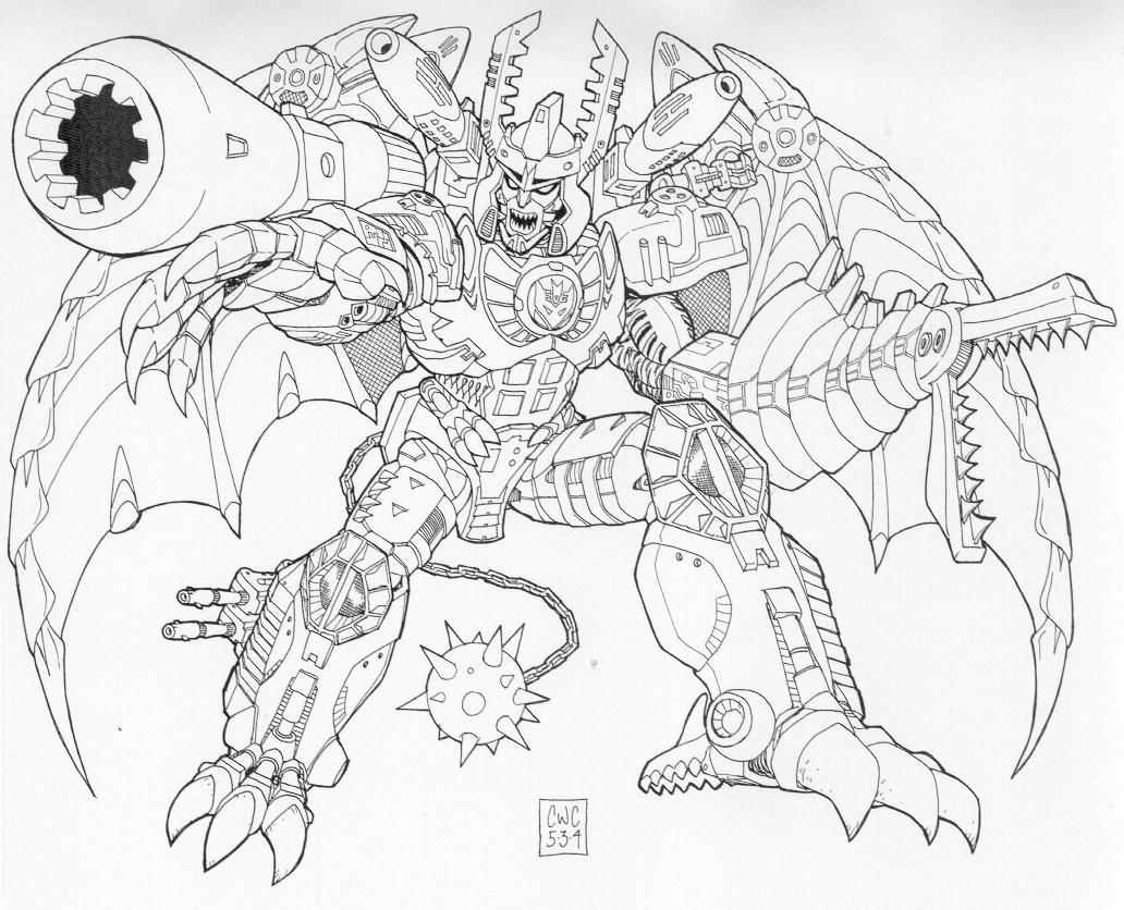 transformer megatron coloring pages megatron evil plan to take over the world in transformers megatron transformer pages coloring