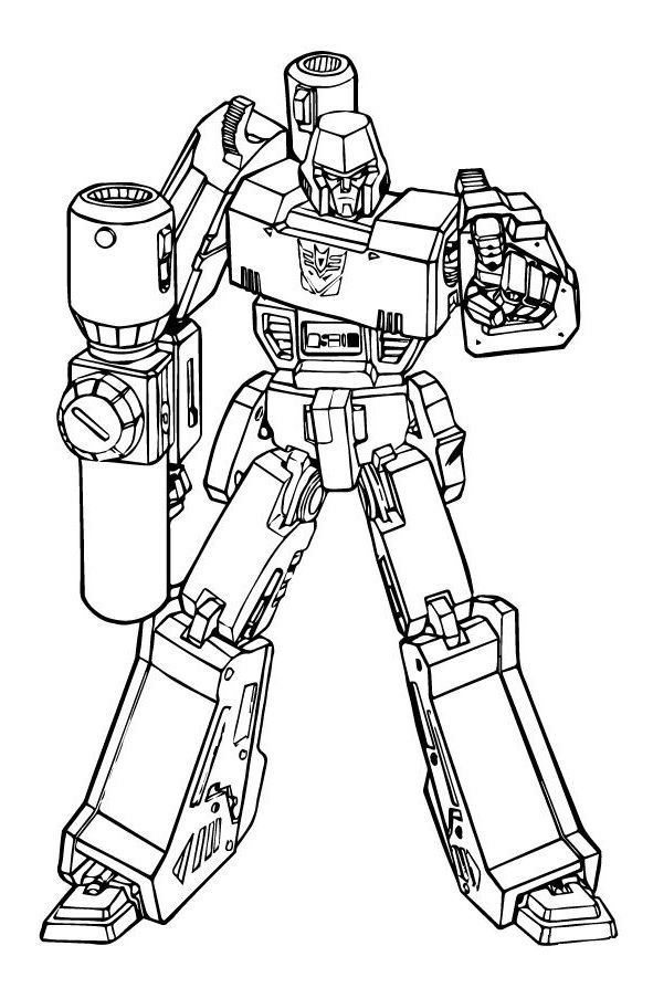 transformer megatron coloring pages megatron transformers coloring page free coloring pages pages transformer coloring megatron