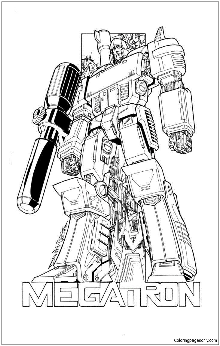 transformer megatron coloring pages transformers megatron coloring pages clip art library pages coloring transformer megatron