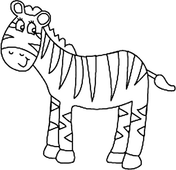 zebra face coloring page cute zebra drawing at getdrawings free download page coloring zebra face